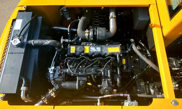 100抓木机型号发动机部件图片