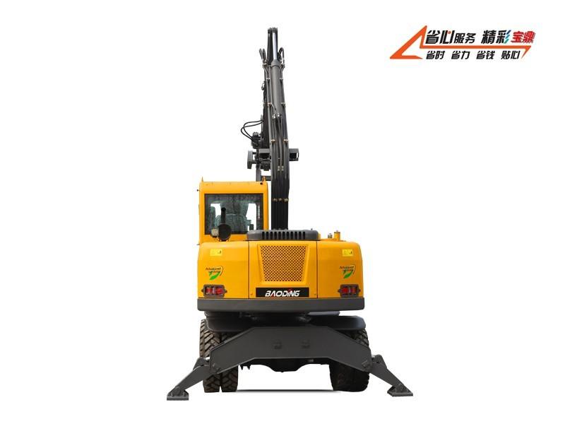 宝鼎BD95W-9S型轮式抓木机型号