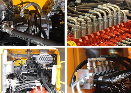 宝鼎BD95W轮式抓木机液压系统