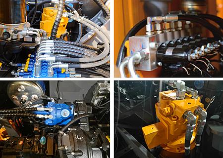 宝鼎BD80W轮式抓木机液压系统