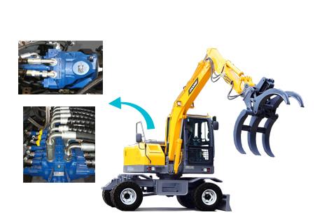 BD80W轮式挖掘机图片D