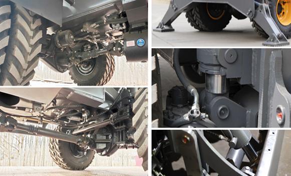 宝鼎BD95W-9A型轮式抓机结构坚固