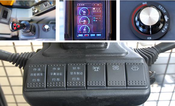宝鼎BD95W-9A型轮式抓机操作简单