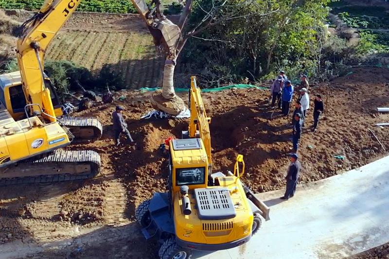宝鼎轮式挖掘机型号