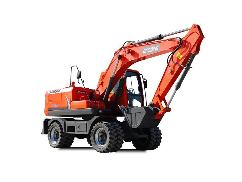 宝鼎150轮胎式挖掘机