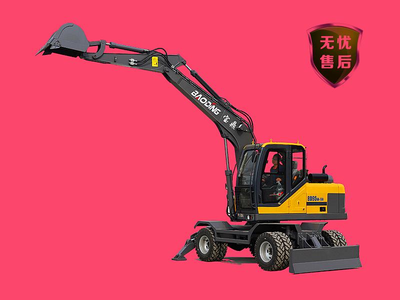 BD95轮式挖掘机图片