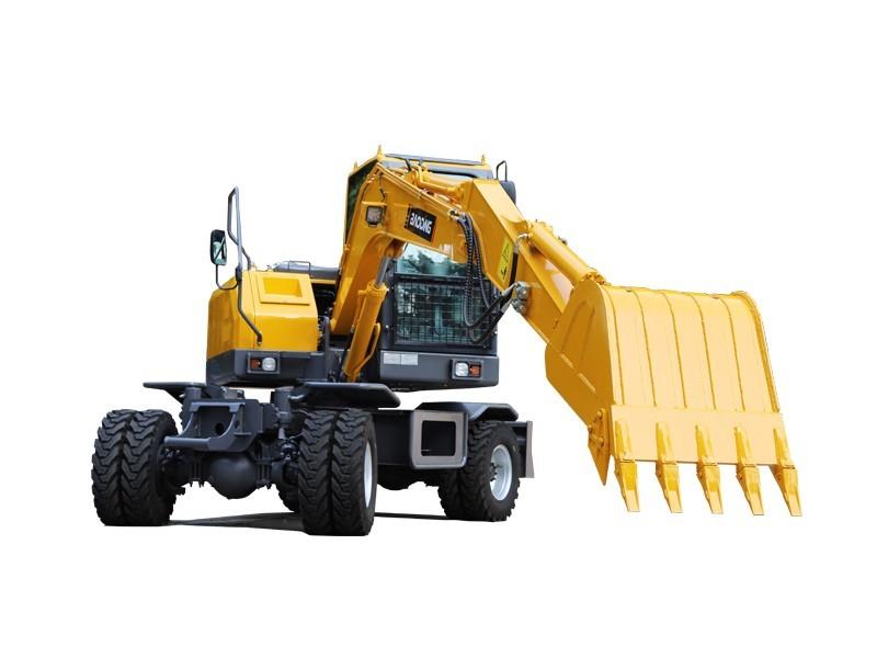 宝鼎BD80W-8A轮胎式挖掘机