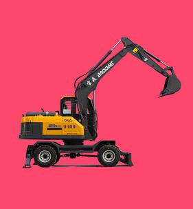 95轮式挖掘机型号