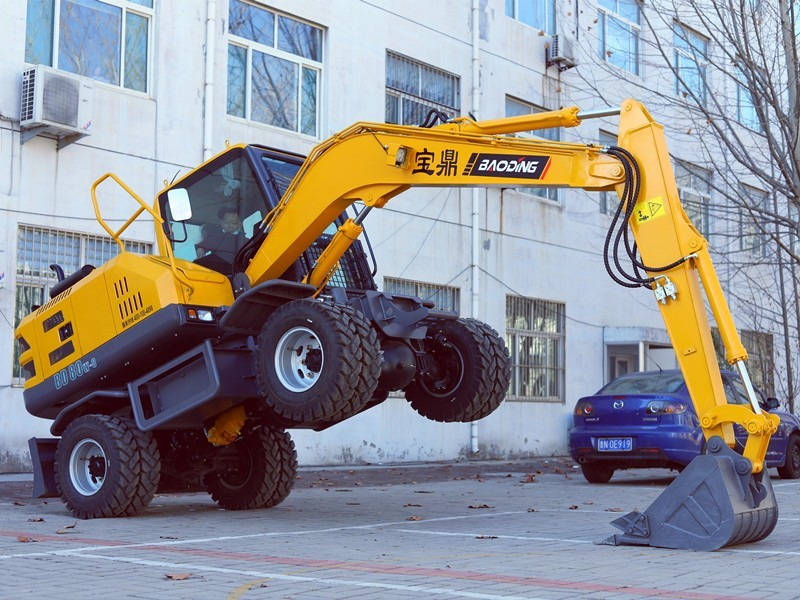 宝鼎轮式挖掘机厂家