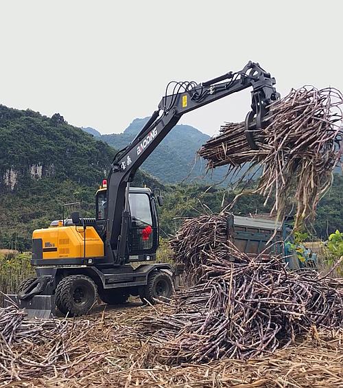 宝鼎BD95W-9G型抓木机实车展示图B