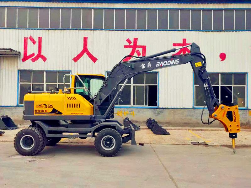 出口轮式挖掘机