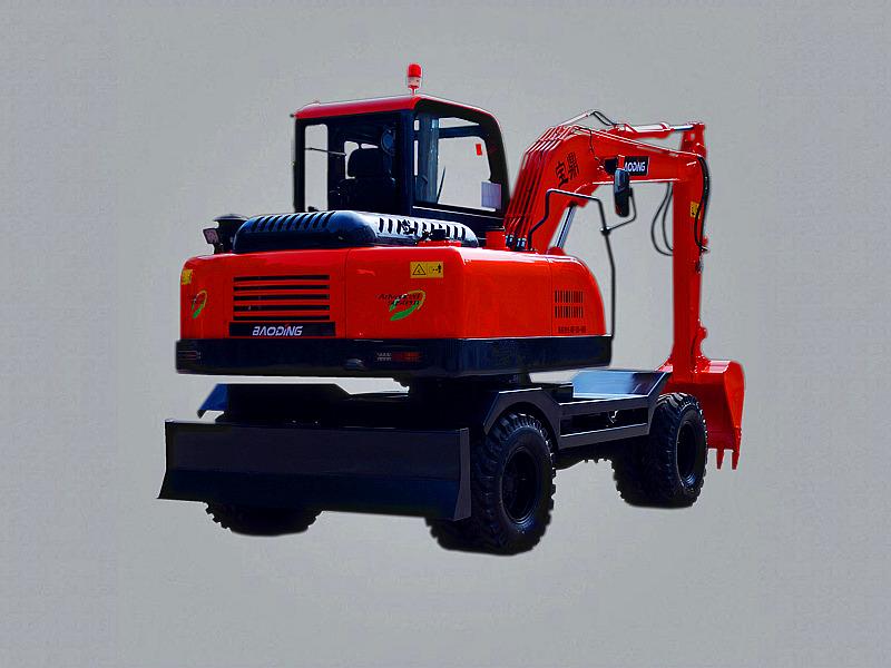 宝鼎BD60W轮式挖掘机