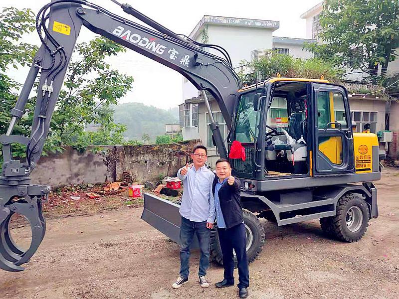 宝鼎湖北抓木机销售客户