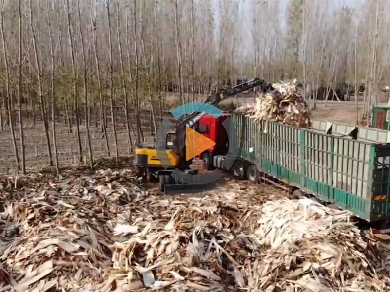宝鼎95抓木机视频