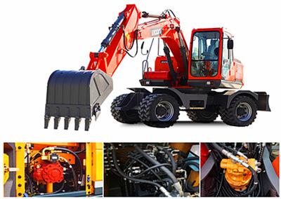 宝鼎150轮式挖掘机液压系统