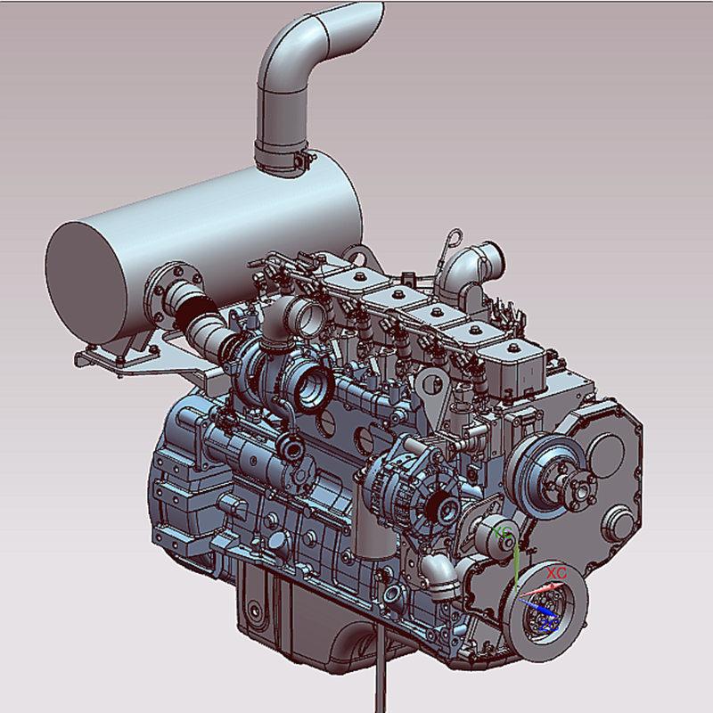高压共轨发动机