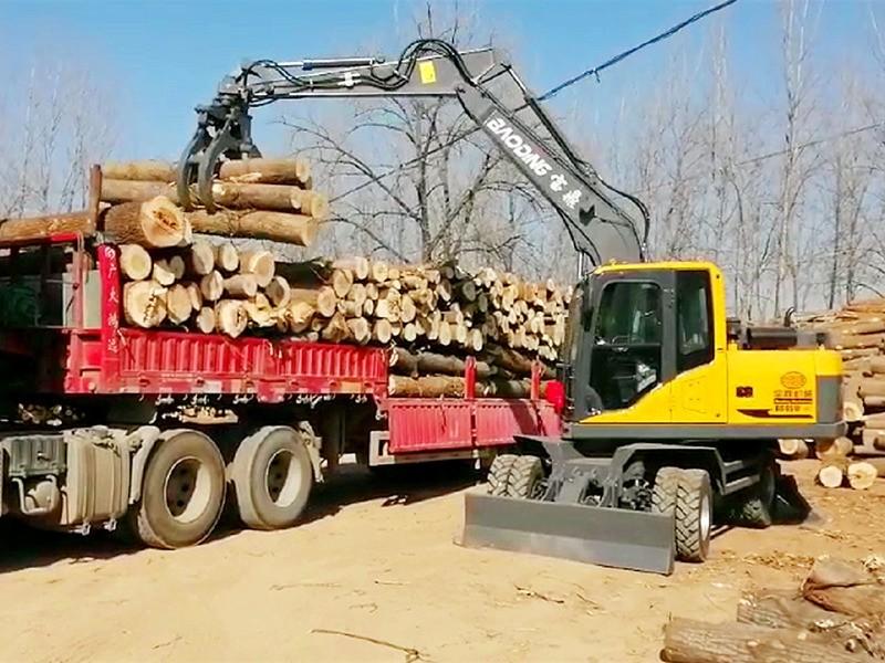 BD95抓木机多少钱一台