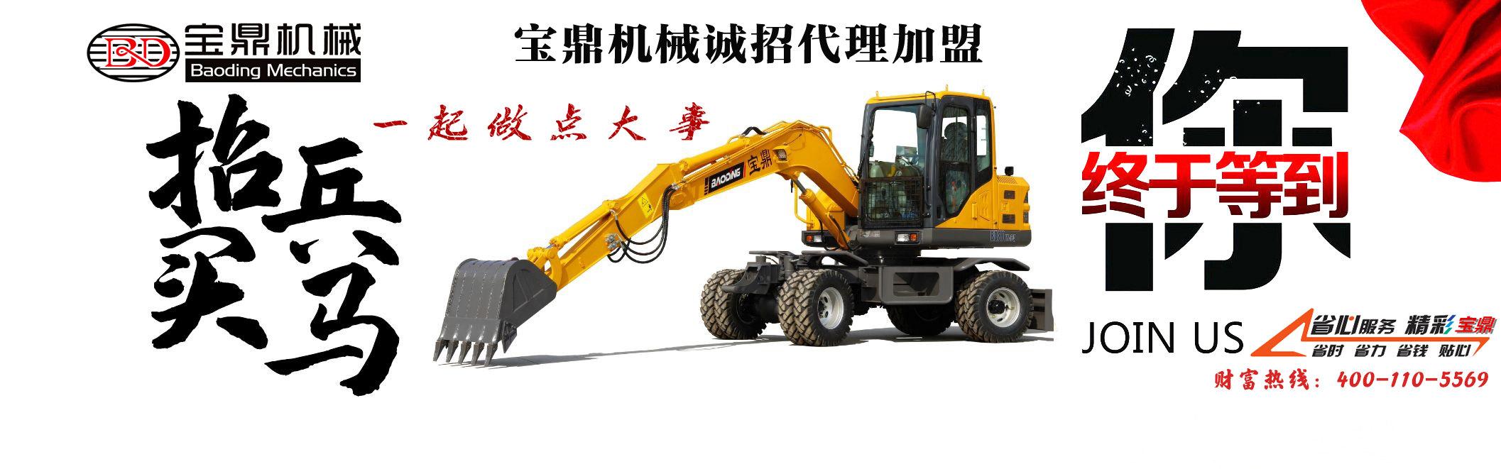 宝鼎轮式挖掘机抓木机厂家招商
