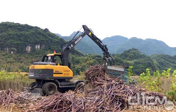 宝鼎BD95W轮式抓木机产品特点使用场景