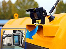 宝鼎95抓木机选装摄像头装置