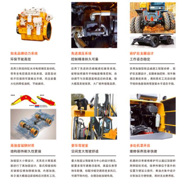 宝鼎105轮式挖掘机部件