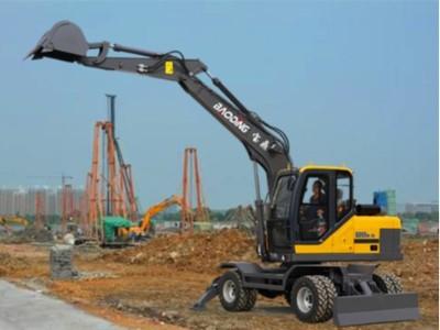 BD95多功能轮式挖掘机