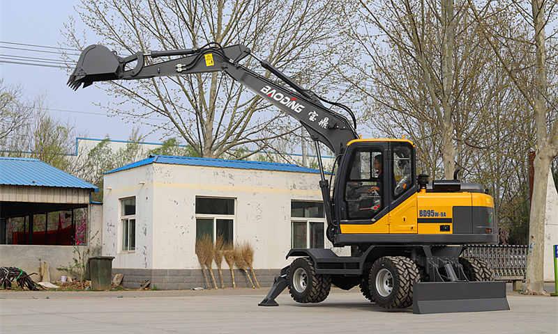 BD95轮式挖掘机型号
