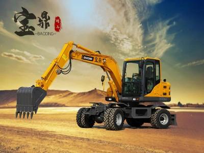 BD80W轮胎式挖掘机
