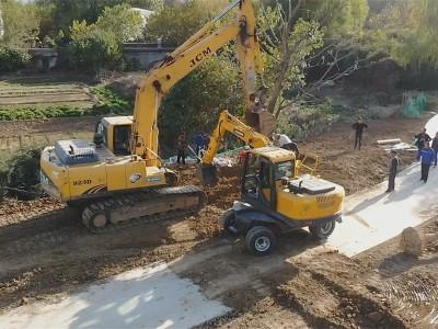 山东小型轮式挖掘机