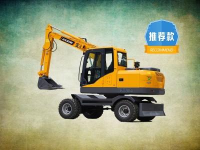 宝鼎轮式小挖掘机80型号介绍
