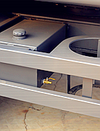 备用储液箱黄油桶架