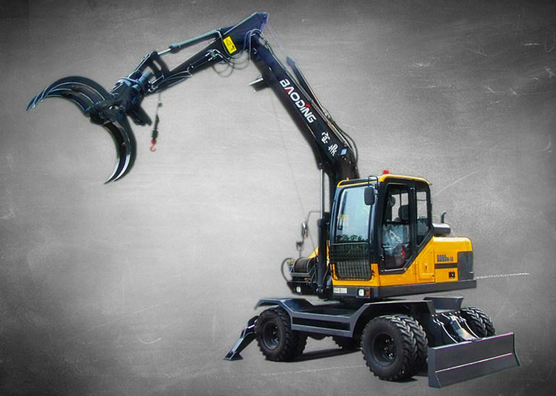 宝鼎95系列轮式挖掘机抓木机