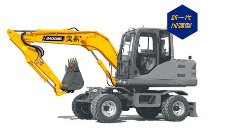 宝鼎轮式挖掘机80型号