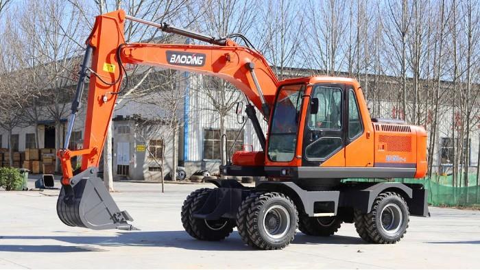 宝鼎150轮式挖掘机型号全新发布