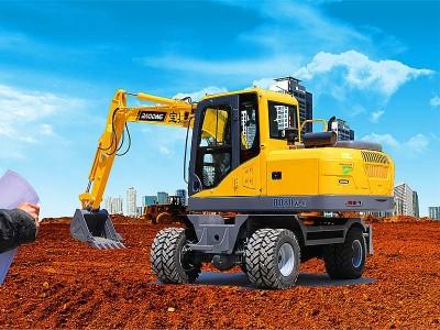 [售价18.6万-24.6万]新款BD80W轮式挖掘机正式上市