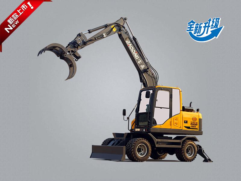 宝鼎BD95W-9B轮式抓木机型号