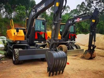 宝鼎轮式挖掘机抓木机厂家