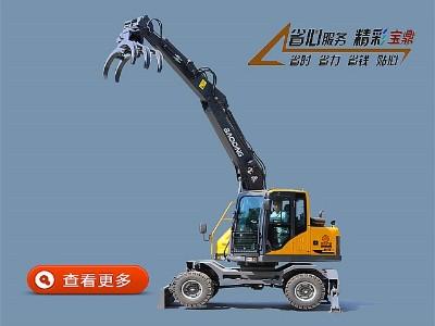 宝鼎BD95系列轮式抓木机价格咨询