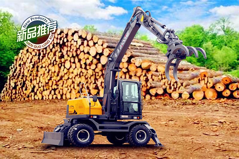 宝鼎105轮式抓木机型号图片