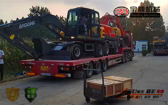 北京轮式挖掘机销售
