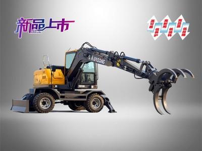 山东宝鼎抓木机厂家-BD95W-9B型号轮式抓木机全新登场