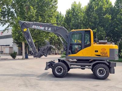 宝鼎BD100W-8D轮式挖掘机抓木机