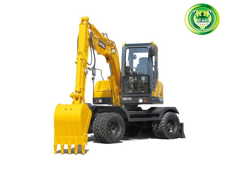 宝鼎BD80W-8B型号轮式挖掘机