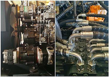 宝鼎BD80W轮式挖掘机液压系统