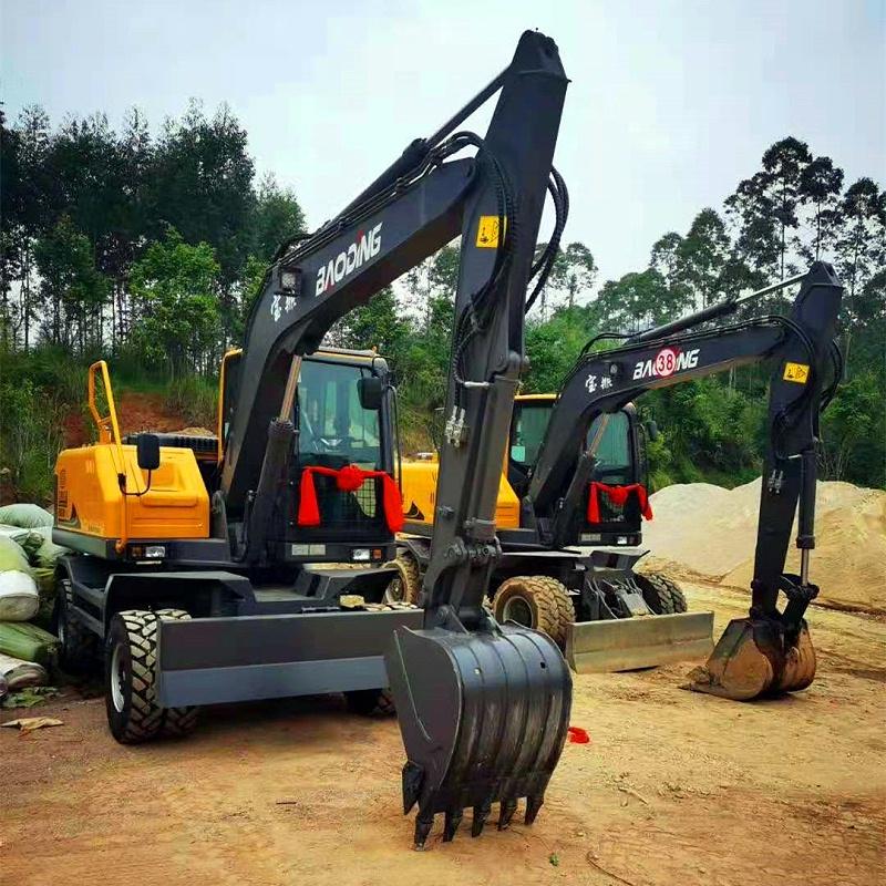 宝鼎厂家轮式挖掘机95型号