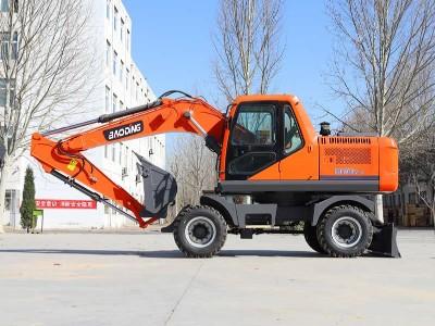 轮式挖掘机功能用途简介-轮式挖掘机厂家