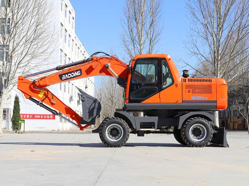 宝鼎轮式挖掘机150型号