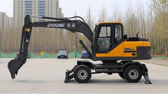 宝鼎BD95W-9A轮式挖掘机-宝鼎轮式挖掘机厂家