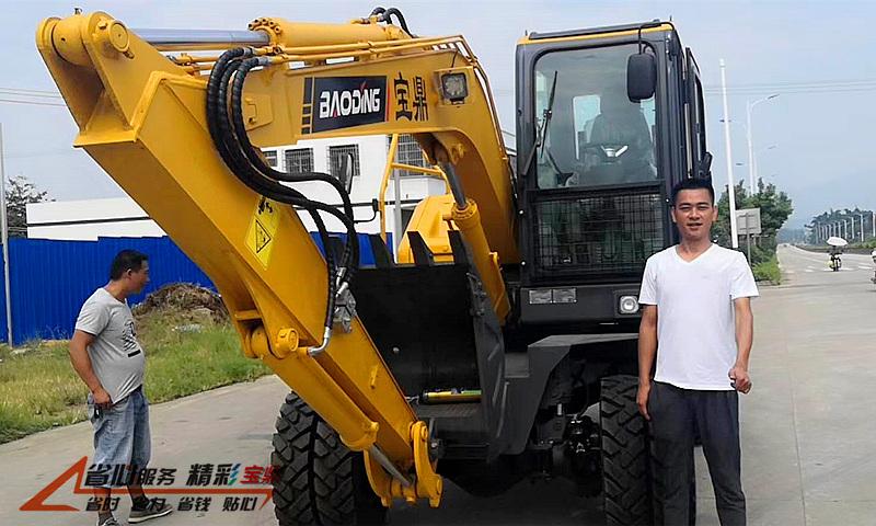 广东轮式挖掘机销售
