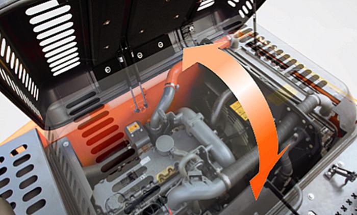 宝鼎BD150轮式挖掘机动力部件